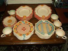 A Wonderful 29 Piece Horchow Medici Luncheon Set