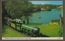 Scarborough. 1976 Miniature Railway & Boating Pool  Postcard Colour    L.293