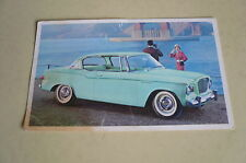Mid Sixties Stedebaker Lark 2 Door Hardtop Coupe Postcard Vintage