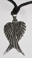 Supernatural pendentif ailes de Castiel Collier en etain  protection pendant
