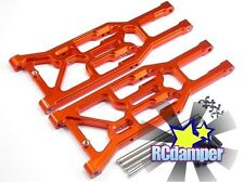 ALUMINUM FRONT LOWER ARM O HPI 1/8 TROPHY TRUGGY 4.6 FLUX ALLOY SUSPENSION BUGGY