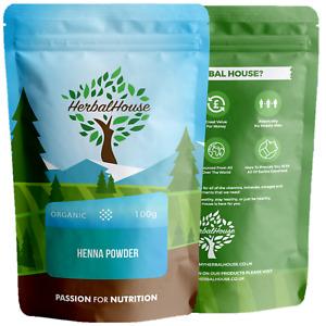 Premium Organic Henna Powder -Pure | Natural Hair Dye Colour | Mehndi | Body Art
