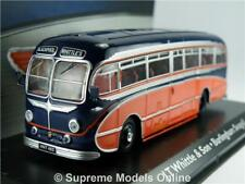 BURLINGHAM SEAGULL MODEL COACH BUS 1:76 SCALE CORGI ATLAS 4642101 BLACKPOOL K8