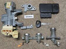 MAZDA MX5 MK2.5 FULL LOCKSET AND IGNITION + KEY - UK MODEL 2001 - 2005