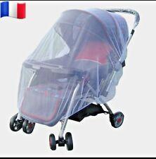 Moustiquaire-housse -poussette-landau-lit-siège bébé-protection moustique-enfant
