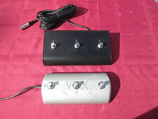 Vox Berkeley II & III, Cambridge Reverb Replacement 3 Button Pedal