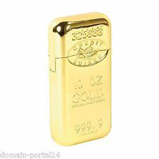 Edles Gas Feuerzeug im Goldbarren Design  @ Marken Qualität zum Sonderpreis