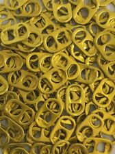 300 YELLOW Colored ALUMINUM CAN TABS ASSORTED PULL TABS POP TOPS SODA