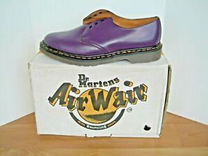 Dr Doc Martens Purple Gibson Oxford UK 8  NOS