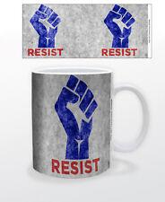 Resist 11 Oz Coffee Mug Politics Usa Democrat Liberal President Freedom Equality