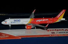 """GEMINI Jets 1/400 Airbus a321 Sharklets VietJet vn-a651"""" 9000th Airbus aircraft"""""""