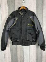 Ixon Shooter Textile Black Ladies Motorcycle Jacket Size L