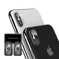 2x Back Camera Tempered Glass Screen Protector Lens Cover For iPhone X/XS/XS Max