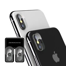 2Pcs Back Camera Tempered Glass Protector Len Cover Anti Scratch For iPhone X