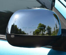New Chrome Rearview Mirror Cover Trim For Mitsubishi Outlander Sport 2010-2012