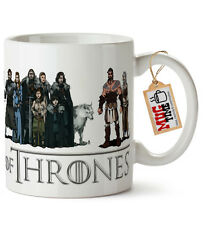 Game of Thrones Cast Inspired - Mug Cup - Ceramic 11oz (320ml)