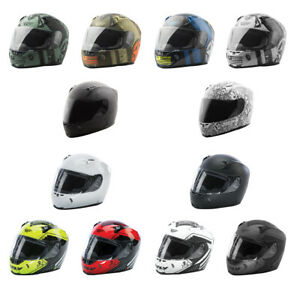 Adult FLY Revolt FS Motorcycle Helmet - SNELL 2015 - DOT - w/ Bonus Tinted Lens