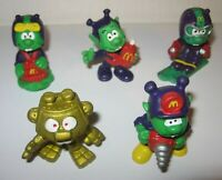 5 LOT Vintage 1983 McDonalds ASTROSNIKS PVC Figures Happy Meal Toys FREE Shipp