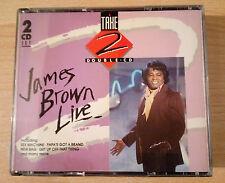 """JAMES BROWN    """" James Brown Live """"  -   2 × CD -  France 1991"""