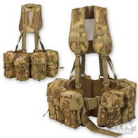 PLCE SAS PARA AIRBORNE WEBBING MULTICAM MTP STYLE SPECIAL FORCES PADDED