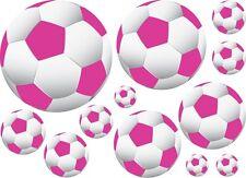 36 Soccer Ball Wall Decor Art Sticker Decal Vinyl Pink