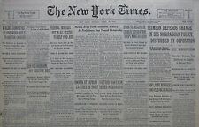 4-1931 APRIL 19 SPAIN TO NEGOTIATE CHURCH SEPARATION. SHIP LANDS REFUGEES