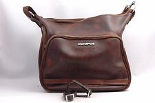 @ Ship in 24 Hours! @ Excellent! @ Olympus OM Series Leather Equipment Bag