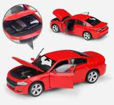 WELLY 1/24 Scale Red Diecast 2016 Dodge Charger R/T Vehicle Car Model Toy