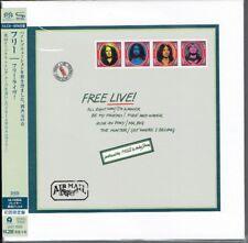Free - Free Live! SEALED SHM-SACD JAPAN 2014 UIGY-9565 in cardbox