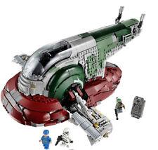 2067pcs Star Ucs Slave I Model Wars Ship Space Building Block Brick Toys Set Diy