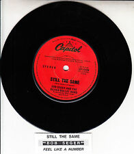 "BOB SEGER Still The Same 1978 7"" 45 rpm vinyl record + juke box title strip"