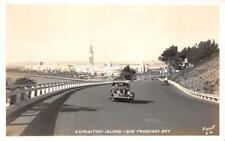 RPPC Exposition Island, San Francisco Bay, CA GGIE 1939 Piggott Vintage Postcard