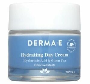 DERMA-E Hydrating Day Cream with Hyaluronic Acid, 2oz - Without Box - Exp 8/22