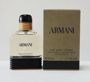 ARMANI EAU POUR HOMME CLASSIC MEN EDT 50ml SPRAY ( New BUT not sealed ) RARE****