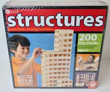 KEVA Structures 200 Piece Plank Set Kids Ages 5+ MindWare NEW