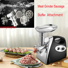 Meat Grinder Mincer Kitchen Food Sausage Stuffer Attachment For KitchenAid
