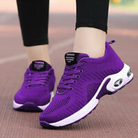 Women's Walking Tennis Shoes Mesh Breathable Sneakers Walking Comfort Size US 9