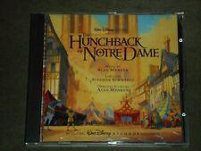 The Hunchback of Notre Dame Soundtrack Alan Menken (CD, 1996, Walt Disney)