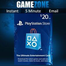 Playstation Psn $20 USD Billetera Recarga Tarjeta-EE. UU. tienda instantáneo código PS4/PS3