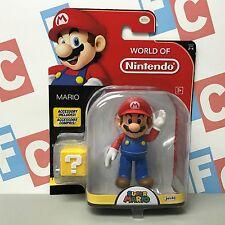 "Jakks Pacific Super Mario World of Nintendo 4"" World 2-4 Mario Figure"