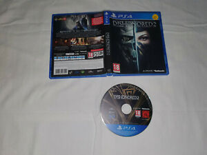jeu playstation 4 ps4 sony d'occasion DISHONORED 2