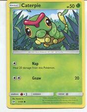 Pokemon Sun & Moon TCG Card 001/149. Caterpie