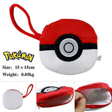 "New Pokemon Go Poakball Coin Purse Small Plush Wallet Women Girls Handbag 6"""