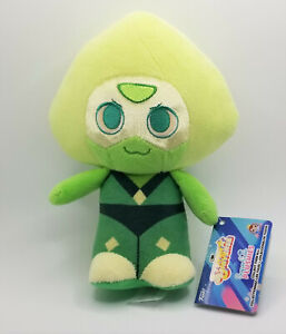 """Steven Universe Peridot 8"""" Funko Plushie with Tag Hot Topic Exclusive"""