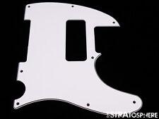 *NEW White P-90 Telecaster PICKGUARD for USA Fender Tele P90 8 Hole 3 Ply