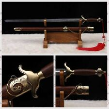 """Stainless Steel Hand Forge Chinese Sword """"Tai chi JIAN """"(劍) Good Elasticity#0226"""