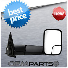 NEW PASSENGER'S RH RIGHT SIDE VIEW TOWING MIRROR POWER HEAT FOLDAWAY DODGE RAM