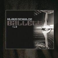KLAUS SCHULZE - BALLETT 1 & 2  2 CD NEW