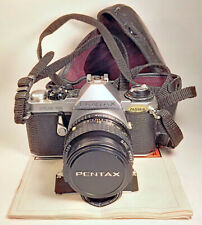 Pentax ME Super 35mm Film SLR Camera + SMC Pentax-A 28mm f/2.8 Wide Angle Lens