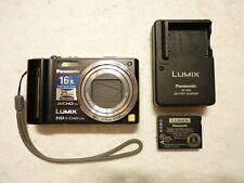 Panasonic Black Lumix DMC-ZS7 HD 16x Intelligent Zoom Digital Still Camera Nice!
